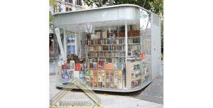 کانکس کتابفروشی , ساخت غرفه کتاب فروشی