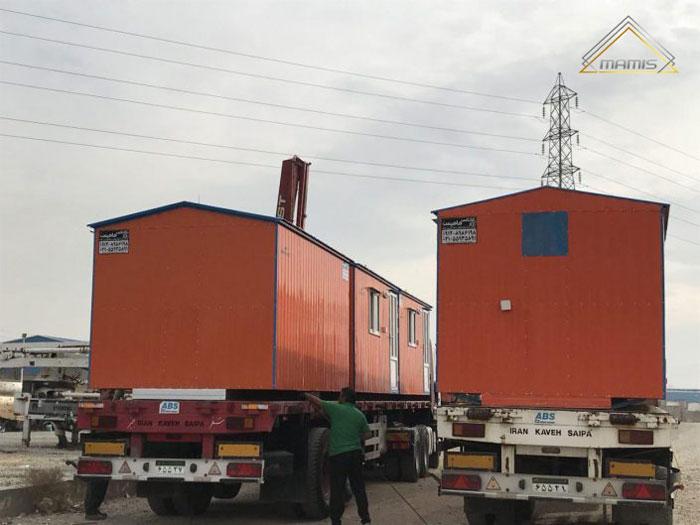 حمل و نقل انواع کانکس با جرثقیل چگونه است؟