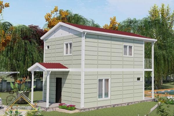خانه پیش ساخته pvc